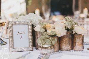 Gold-Bronze-Vases-Wedding-Centrepieces-Hampton-Manor-Wedding-Florist-Passion-for-Flowers-101